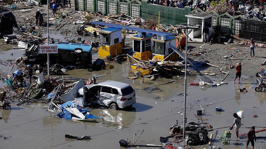Число жертв землетрясения и цунами в Индонезии превысило 1200