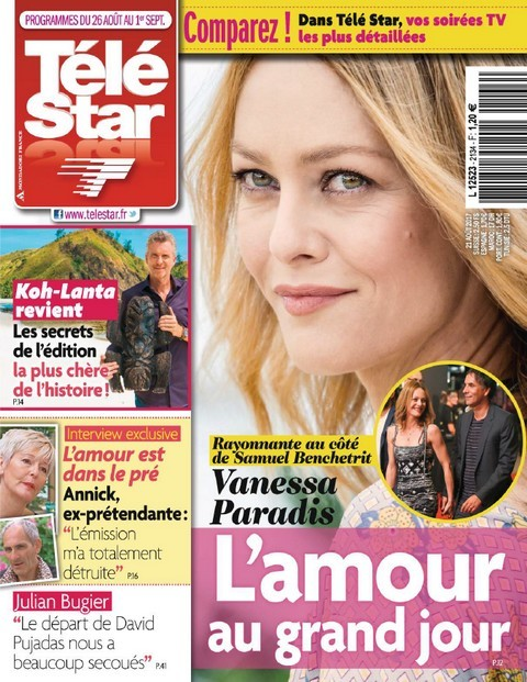 Télé Star N°2134 - 26 Août au 1er Septembre 2017