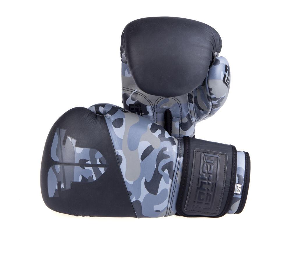 Боксерские перчатки SPLIT камуфляж КОЖА ( Бренд Чехия ) New