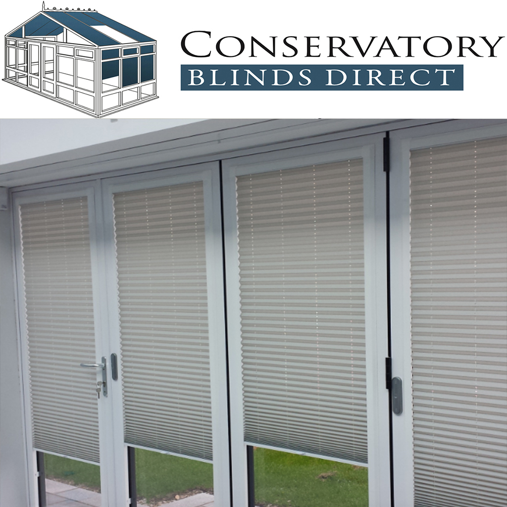 Perfect Fit Bi Fold Pleated Door Blinds Ebay