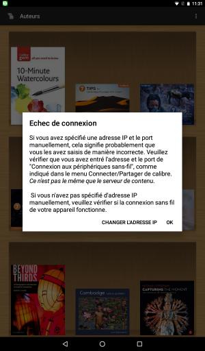 Résolu] Pas/plus de connexion entre applications Android et Fedora