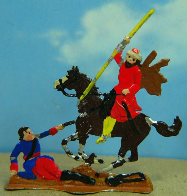 Gruppenfigur zur Schlacht bei Poltawa