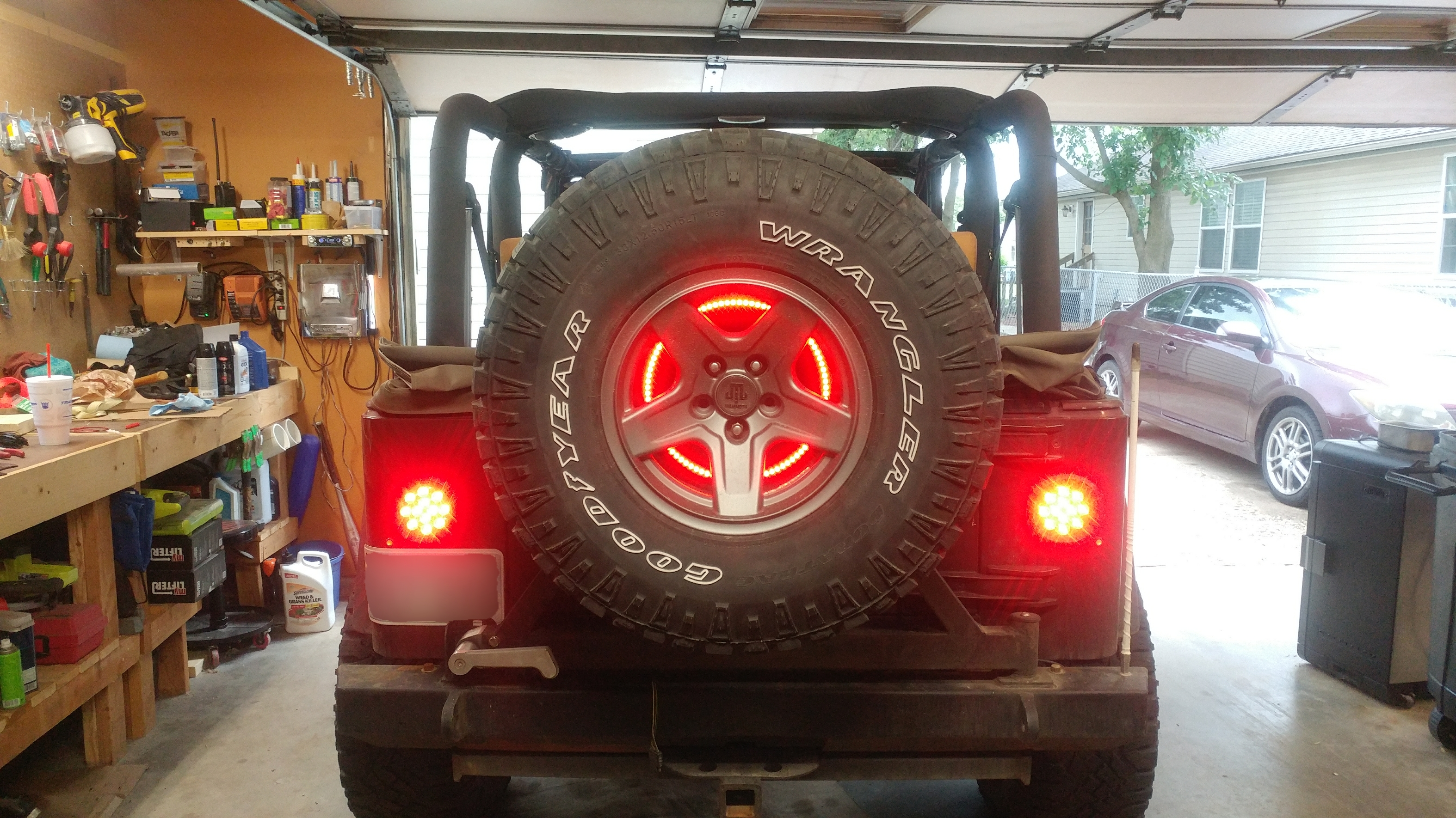 My 20 3rd brake light led ring jeep wrangler forum 1 side emitting led strip red 2 home depot 5 gallon bucket lid 3 clear silicone aloadofball Gallery