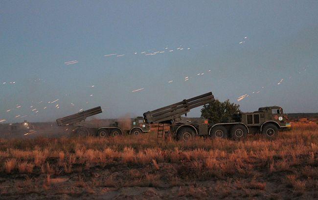 Командування ООС розпорядилось підвищити бойову готовність РСЗВ