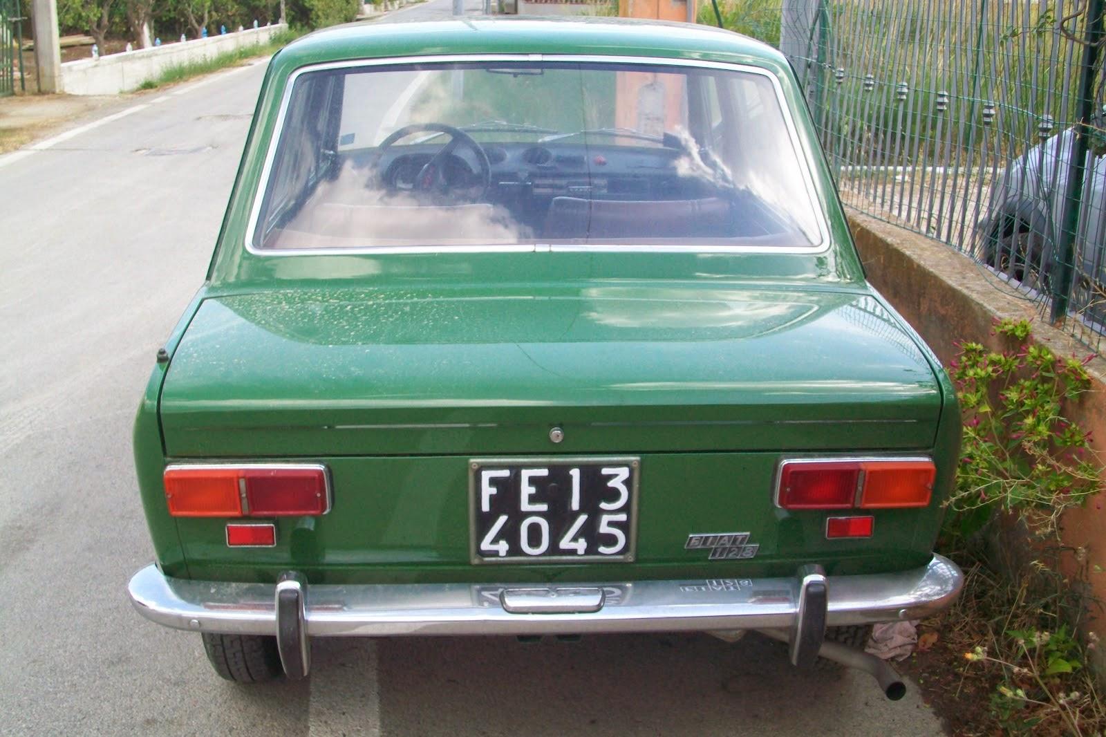 Ed ecco le auto avute in famiglia  El_fecenrthree