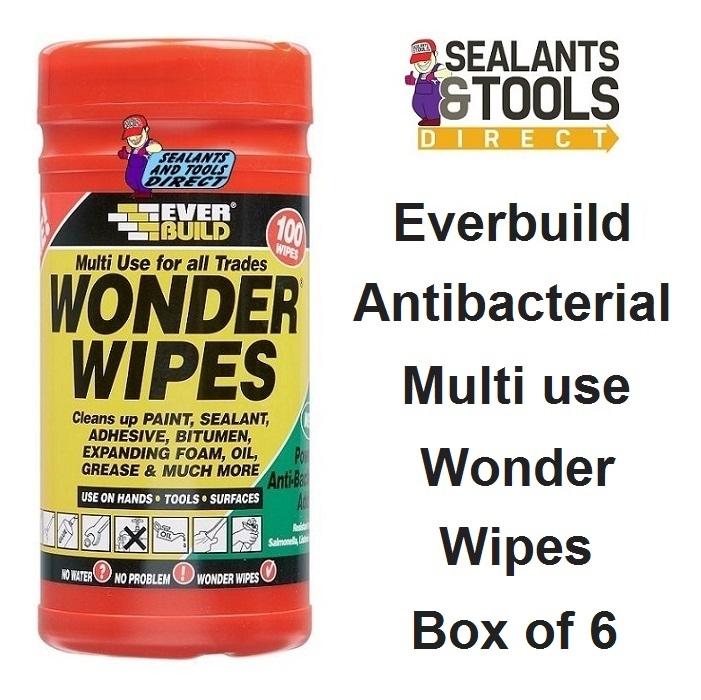 Everbuild Wonder Wipes Box of 6