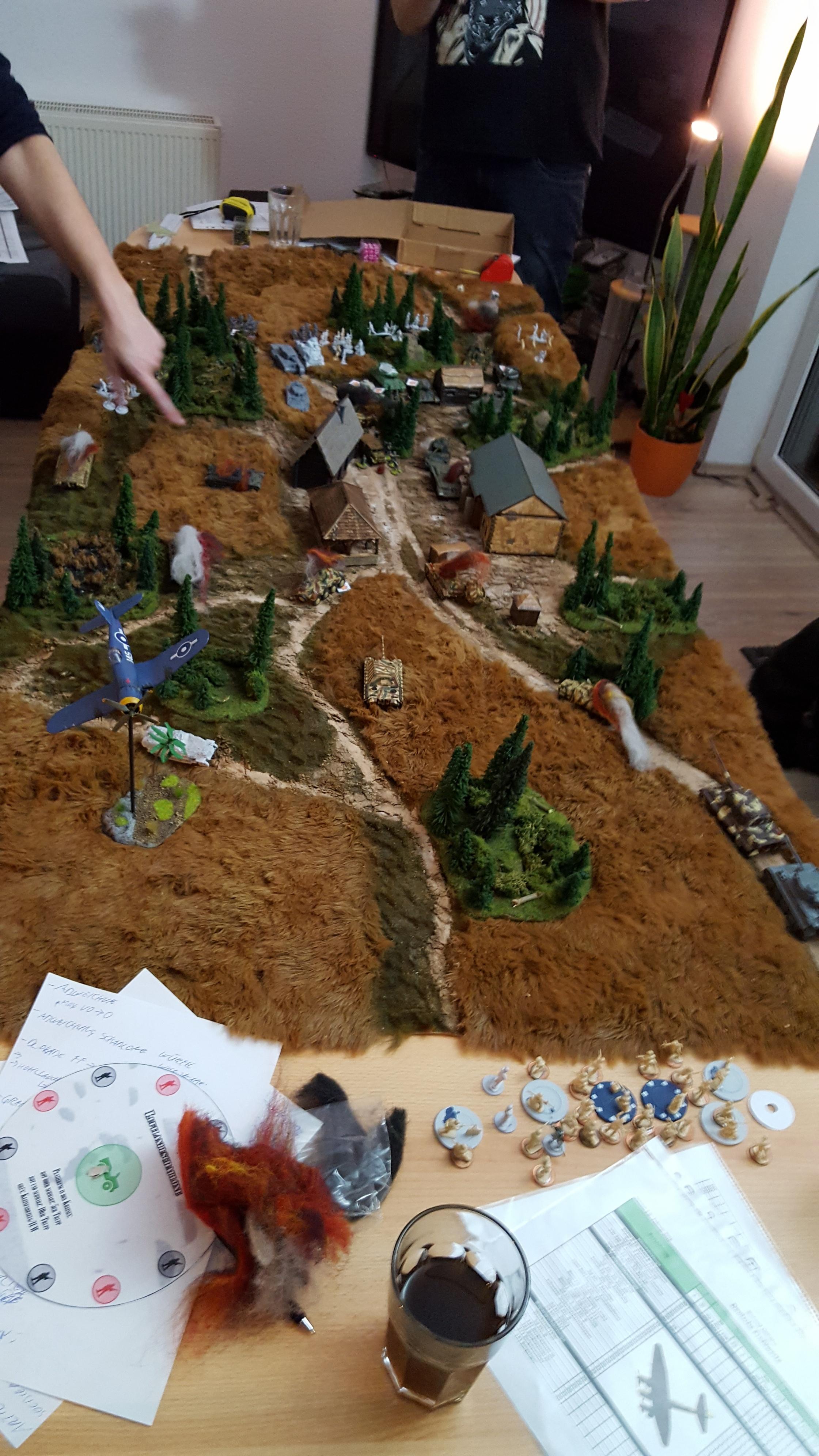 Das 4 Tage Battlemat (Fell) Projekt (Valirisk) Valiriks_Matte_Mit_Gelaende