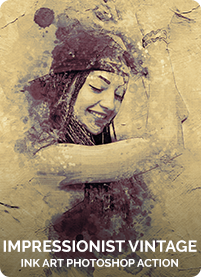 Charcoal Art - Realistic Dust Photoshop Action - 25