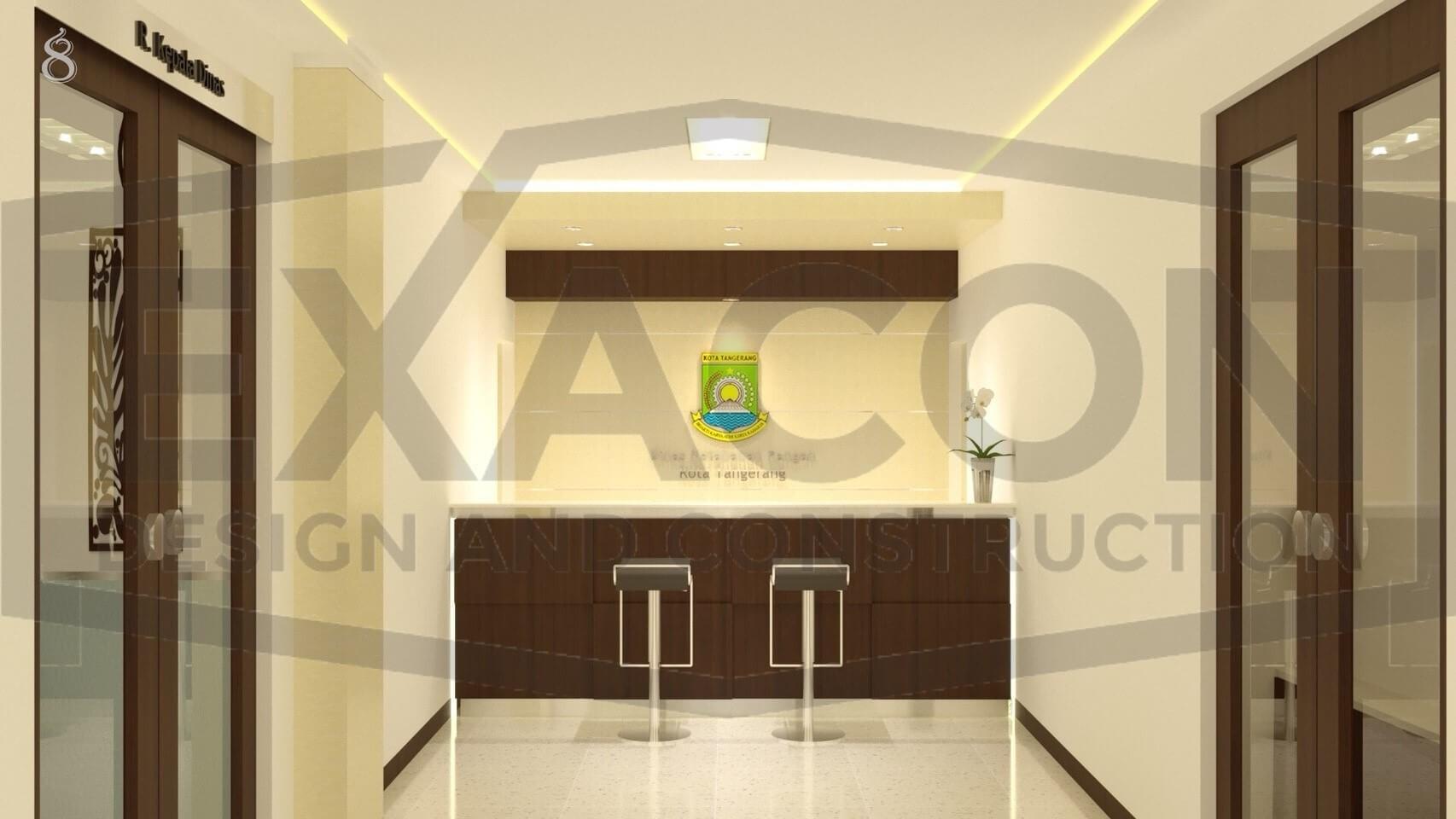 Proyek Desain Interior Kantor Dinas Ketahanan Pangan Dan Pertanian Tangerang