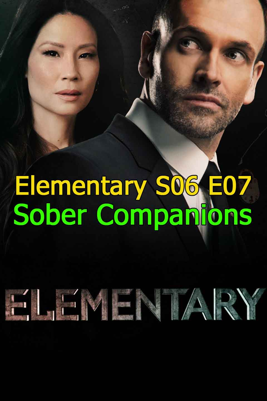 Watch Elementary Season 6 Episode 7 Sober Companions thumbnail