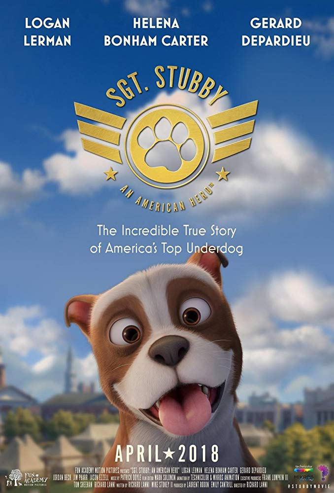 Sgt. Stubby: An American Hero (2018) 720p WEB-DL 600MB