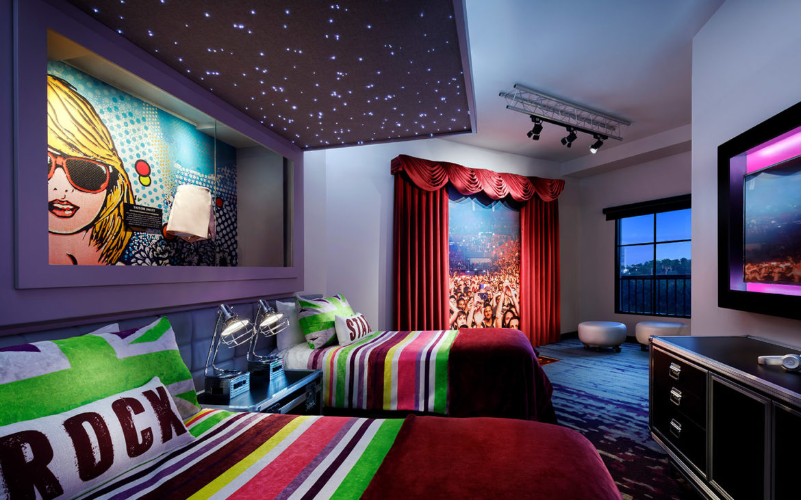 Universal Hard Rock Hotel Future Rock Star Room