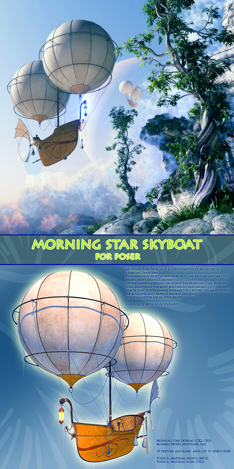 Morning Star Skyboat