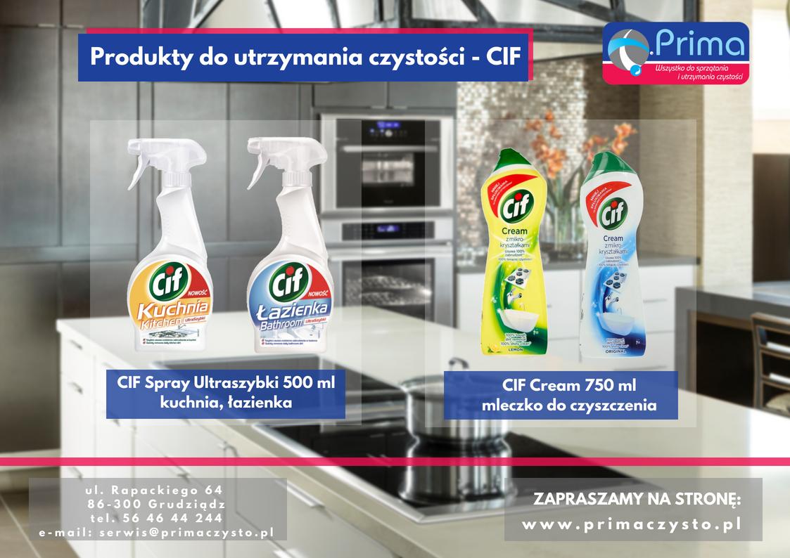Produkty do czyszczenia - CIF