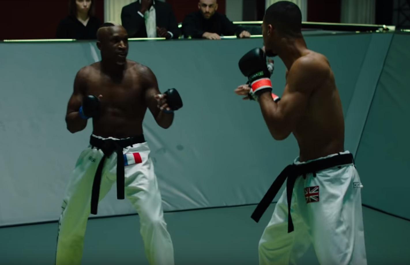Karate Combat - Full-contact - Перелом голени