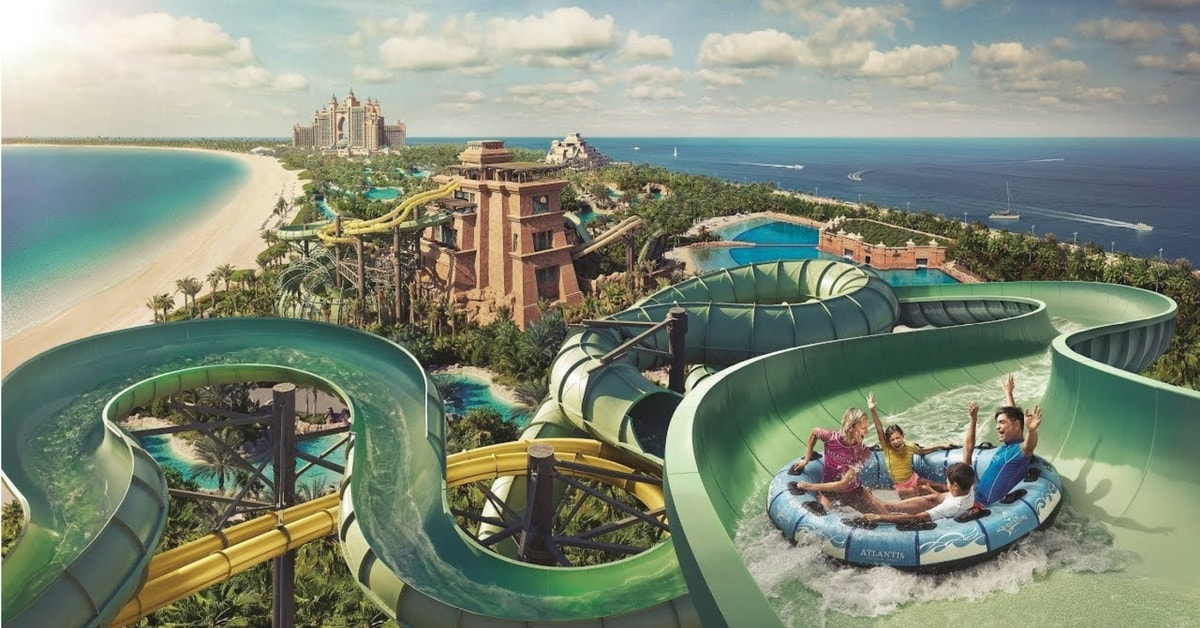 Dubai Atlantis Aquaventure Water Park Ticket Offers and Promotions