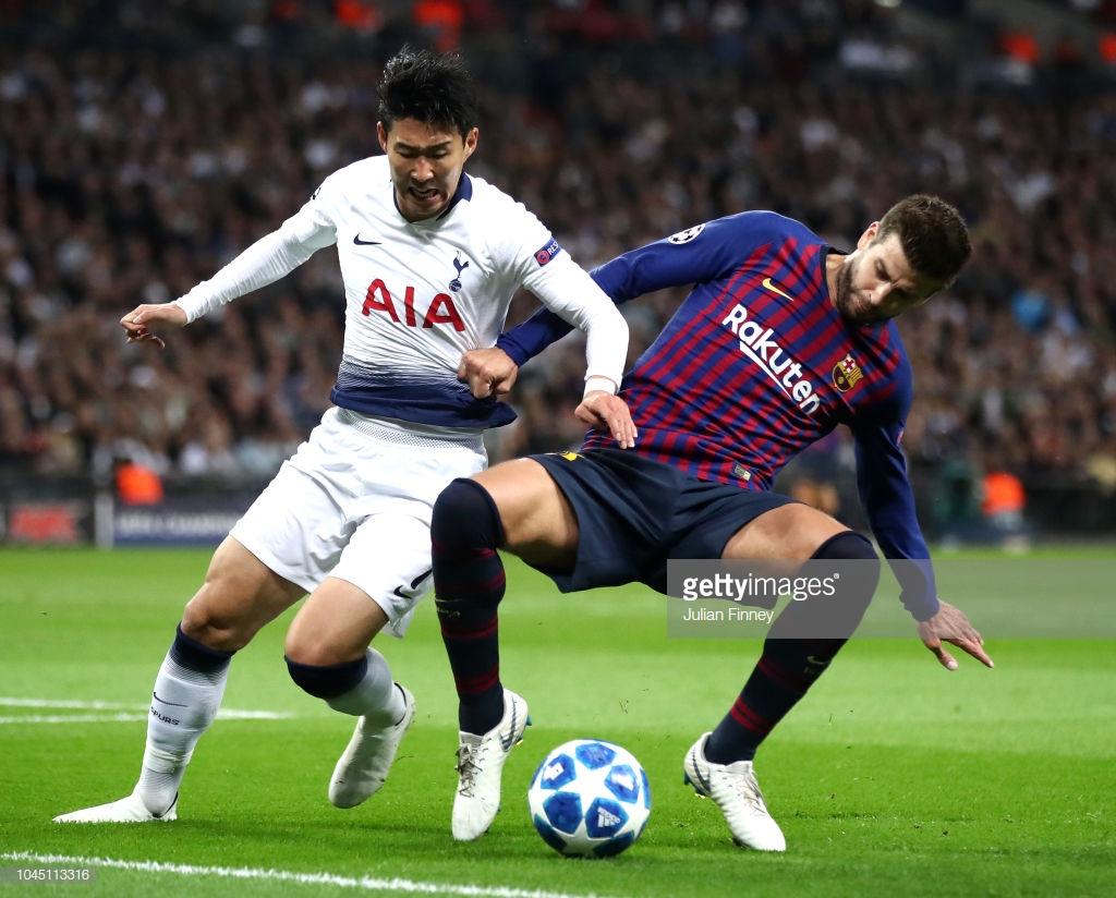 صور مباراة : توتنهام - برشلونة 2-4 ( 03-10-2018 )  H3
