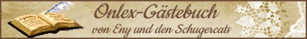 Gästebuch Banner - verlinkt mit http://schugercats.de