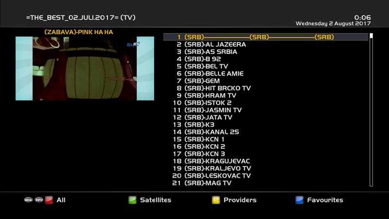 IPTV - Enigma2 (XC Plugin)