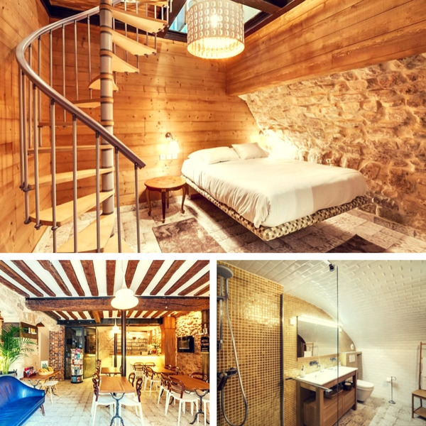 Mejores hoteles baratos en París - conpasaporte.com - Hôtel Sainte-Marie