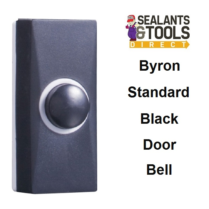 Byron Black Door Bell 7900