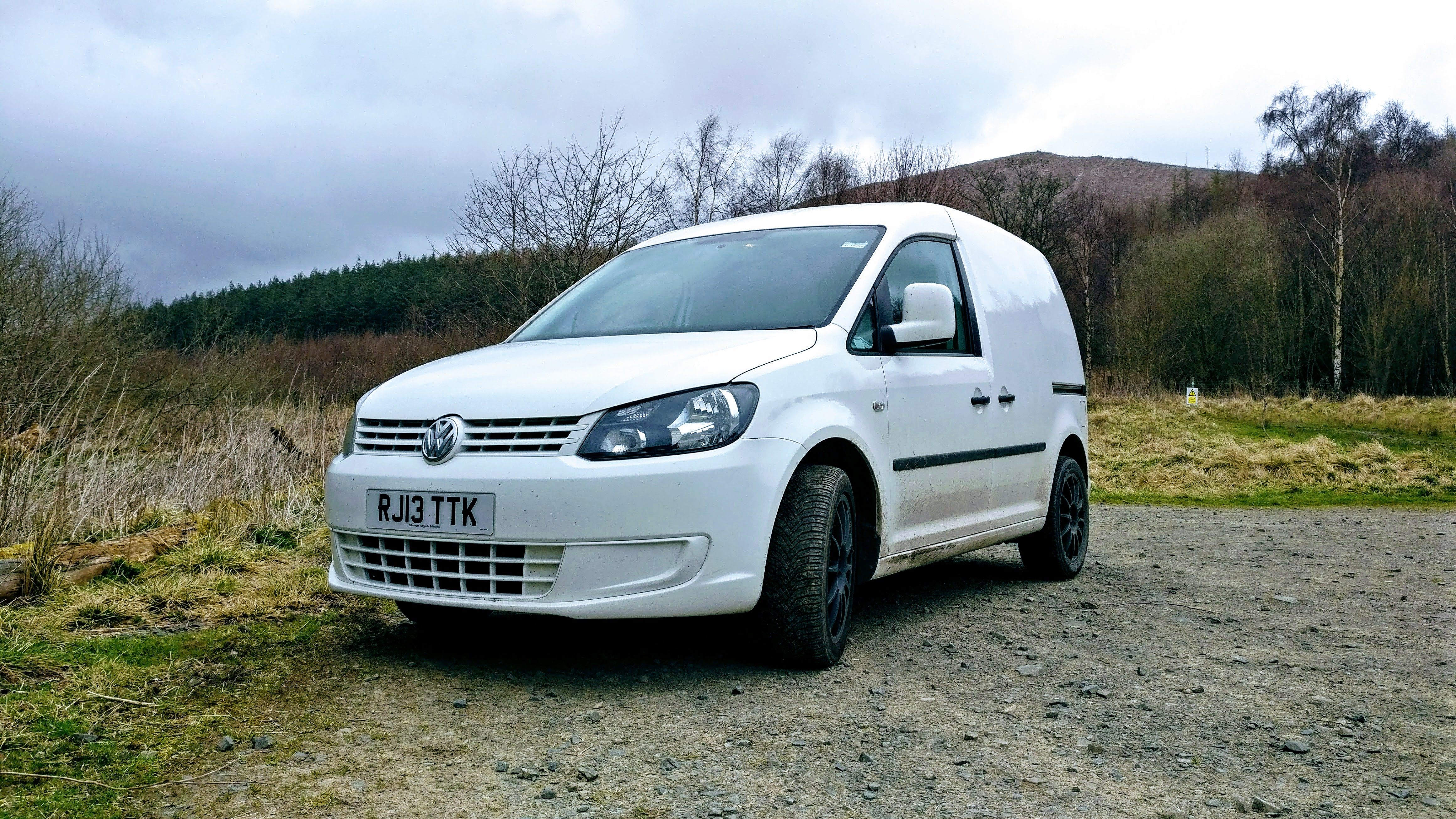 FS: 2013 VW Caddy, 110bhp TDi, white – colour-coded and alloys £6750 ...