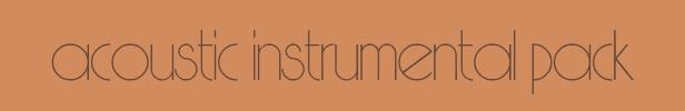 acousticinstrumentalpack