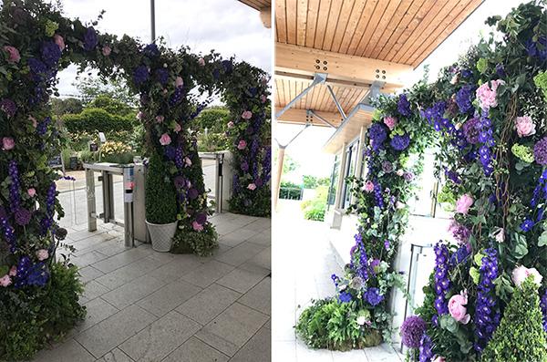 Jenny 2 corsage creations large scale wedding venue dressing florist advice