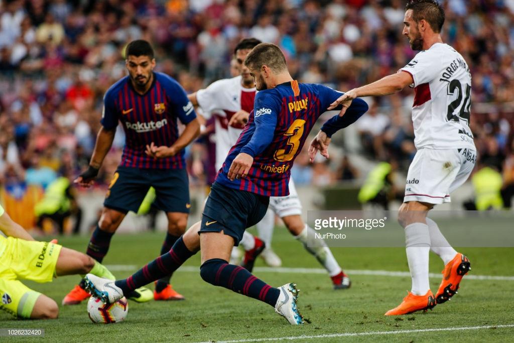 صور مباراة : برشلونة - هويسكا 8-2 ( 02-09-2018 )  P