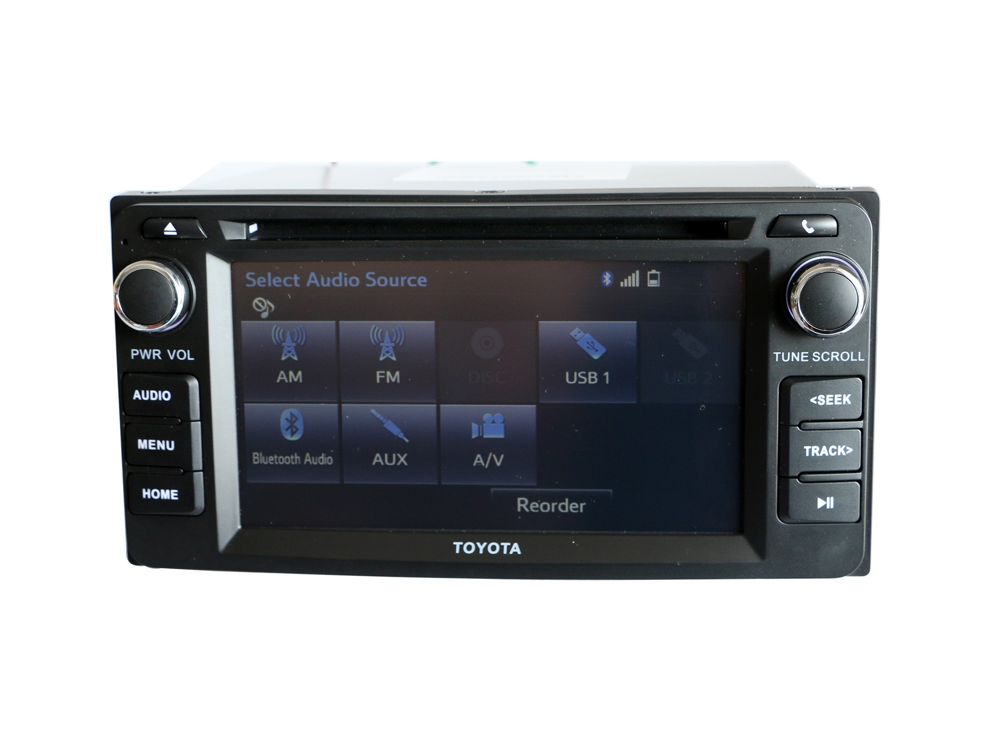 toyota corolla ex cd player stereo radio bluetooth rear. Black Bedroom Furniture Sets. Home Design Ideas