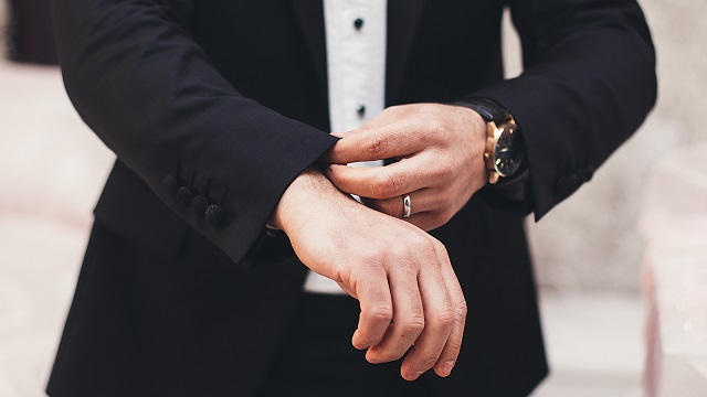 Man in formal dress