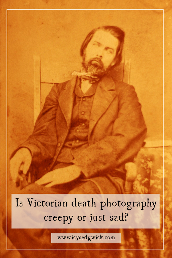 Death photography, or post-mortem photography, is one of the Victorian era's weirder exports. Is it as creepy as it looks, or is it more poignant than that?