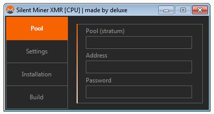 Silent CryptoMiner XMR