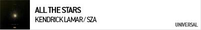 KENDRICK LAMAR / SZA ALL THE STARS