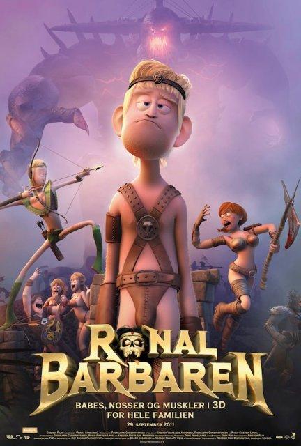 Ronal the Barbarian (2011) BluRay 720p 600MB