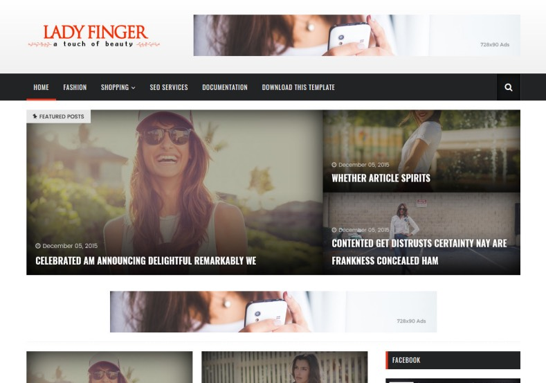 Lady_Finger_Blogger_Template