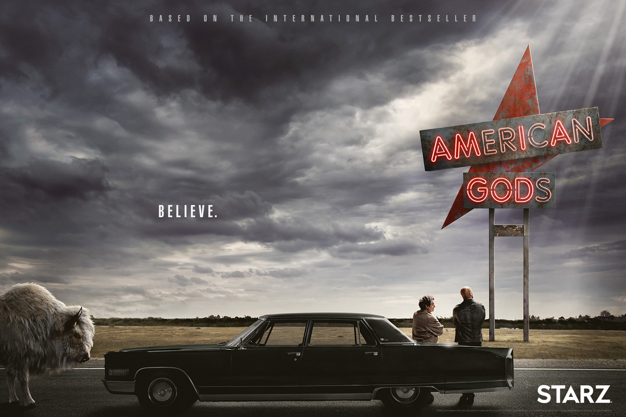 American Gods - Season 1 - Mp4 x264 AC3 720p
