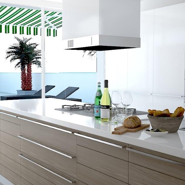 Bir Başkadır Modern Evlerin Sobaları: Mutfak Için Dekorasyon Fikirleri