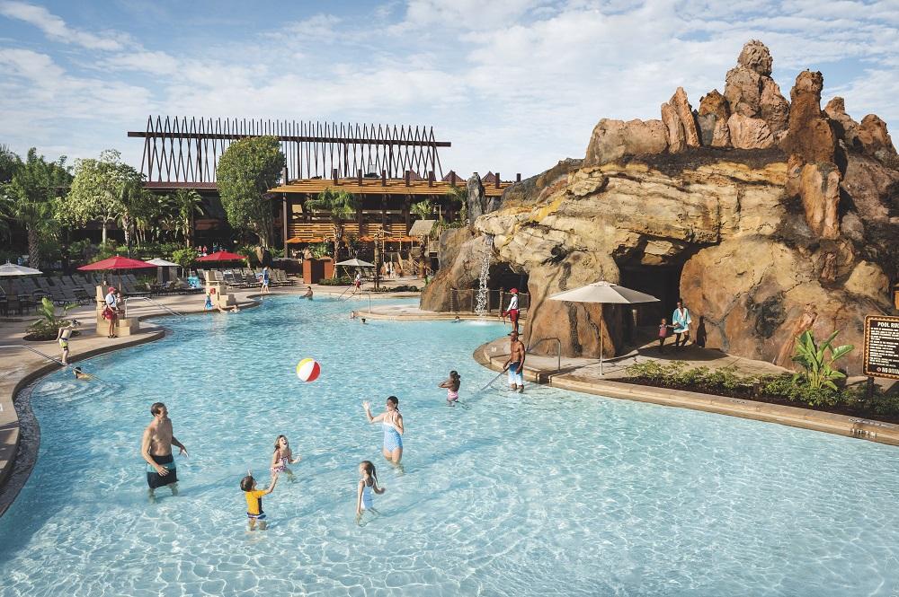 Lava Pool at Disney's Polynesian Resort