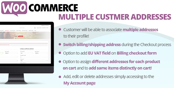Download WooCommerce Multiple Customer Addresses v9.6