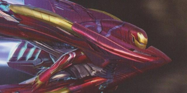 Iron Man Concept Art Suit