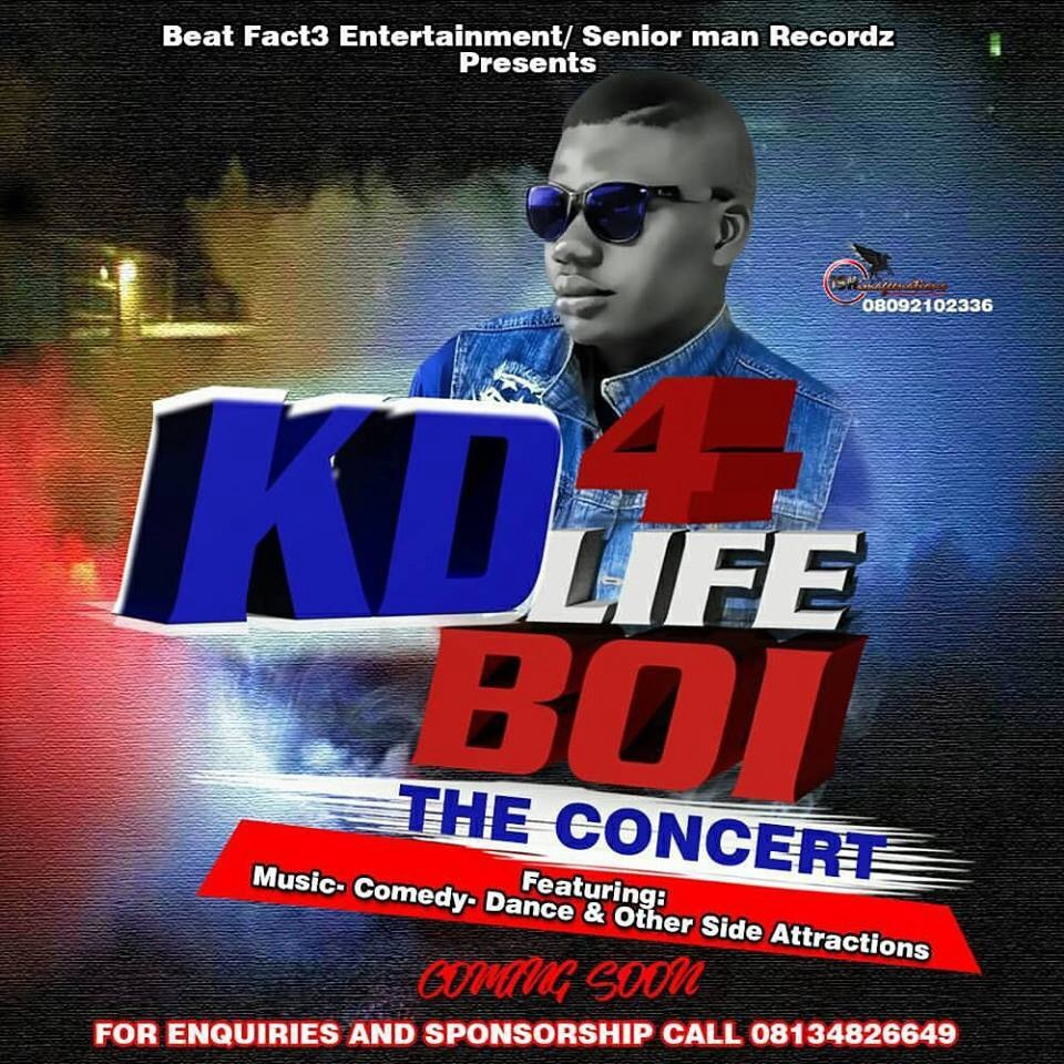 EVENT: KD BOI FOR LIFE CONCERT (DETAILS OUT SHORTLY)