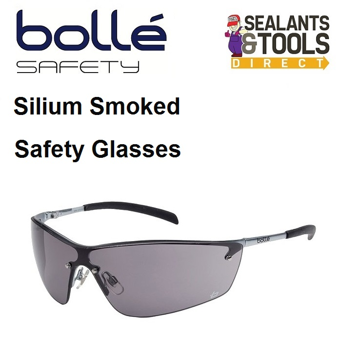 Bolle Silium Approved Safety Glasses - Smoke SILPSF