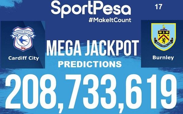 Sportpesatips - Cardiff Vs Burnley Predictions & H2H:: Sportpesa Mega Jackpot Predictions