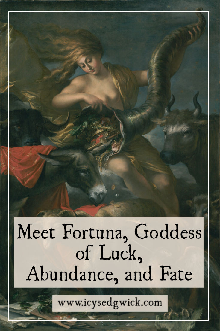 Need to bring a little luck or good fortune into your life? Click here to learn about Fortuna, the Roman goddess of all things fortunate. But beware the bad luck, too...