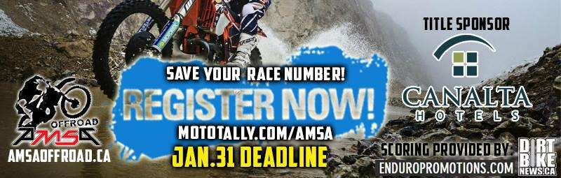 AMSA OFFROAD Scoring & Event Registration - Provided by: Enduro Promotions