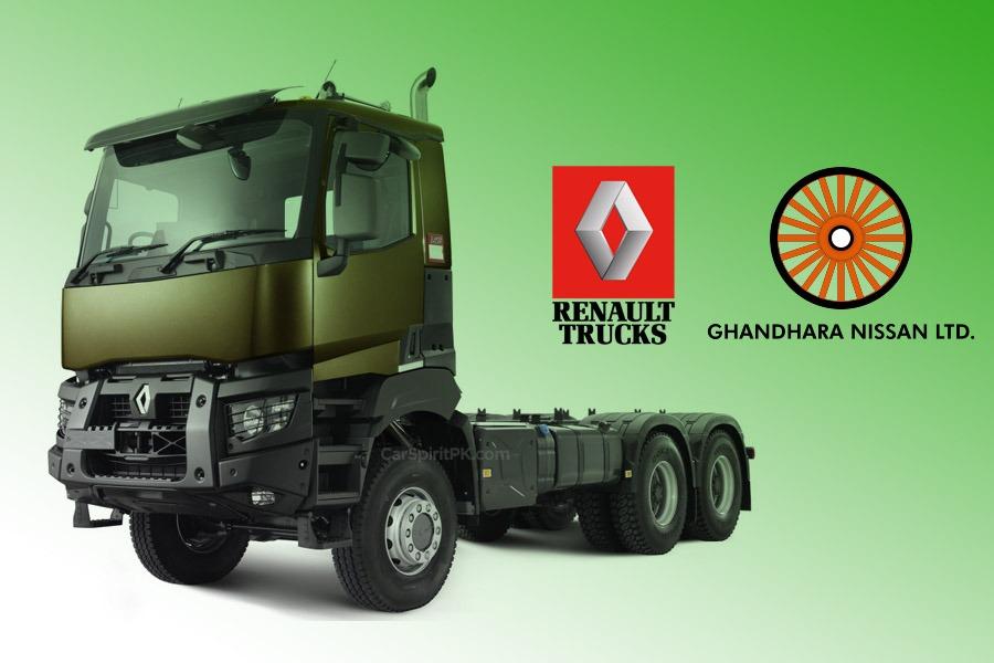 nissan import renault trucks