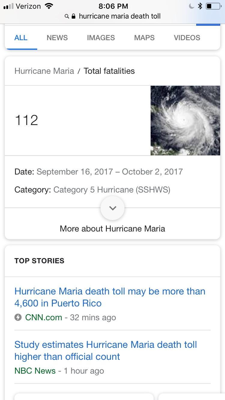 Studies Show Hurricane Maria, Which I Barely Escaped, Killed Thousands