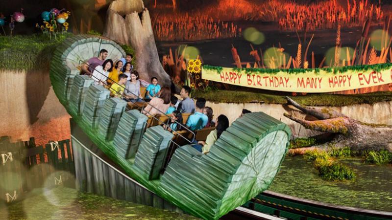 Swamp Celebration at Dubai Parks and Resorts