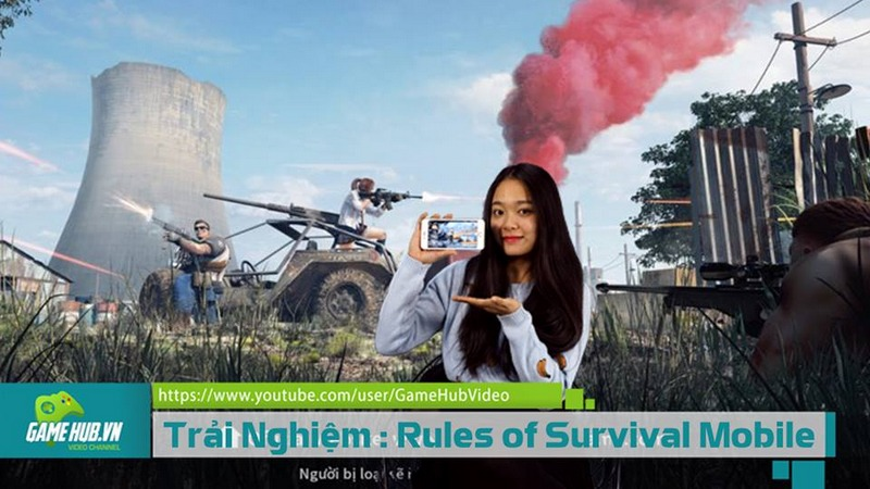 Trải Nghiệm Game: Rules of Survival (PUBG Mobile)
